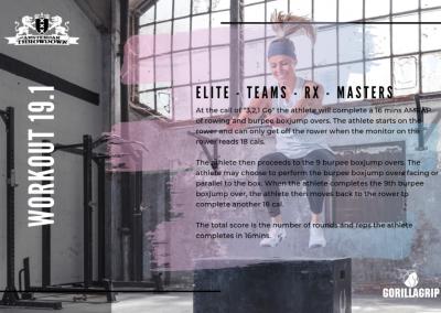 Workout 19.1 ELITE/TEAM